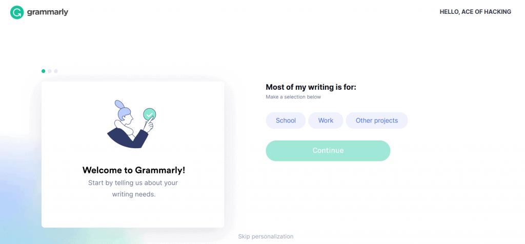 premium grammarly account