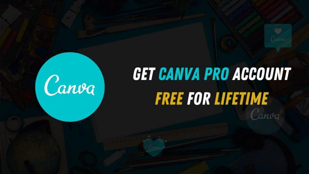 Get Canva Pro Account Free