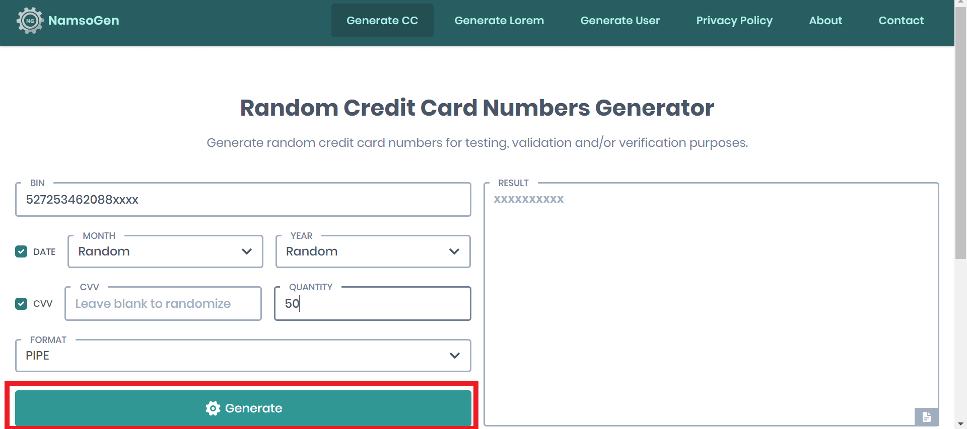 how to create a virtual credit card