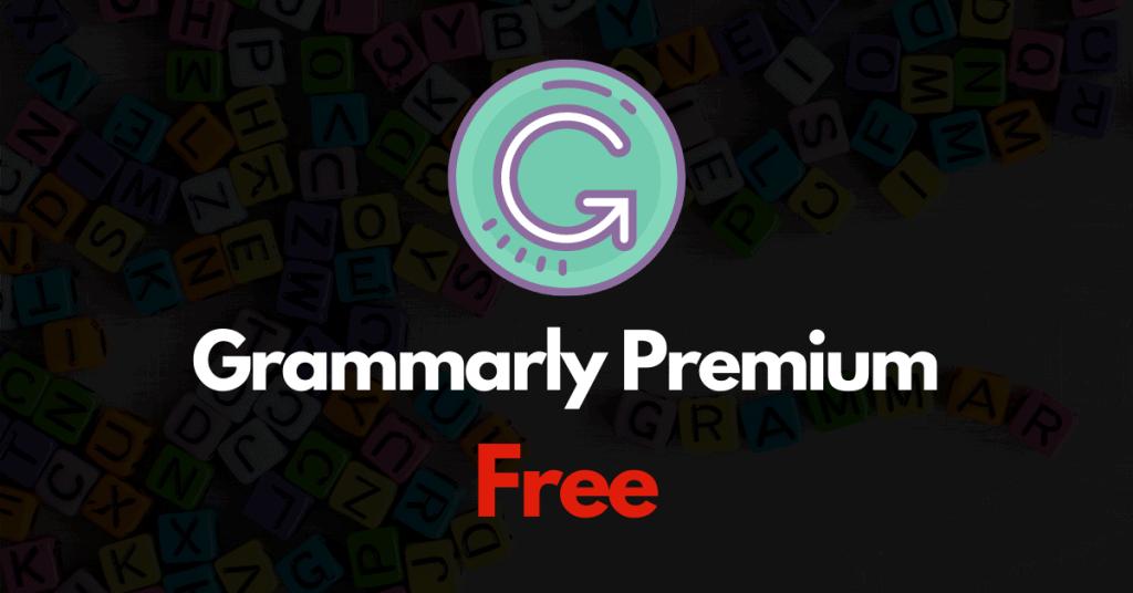 Grammarly Premium account free login details