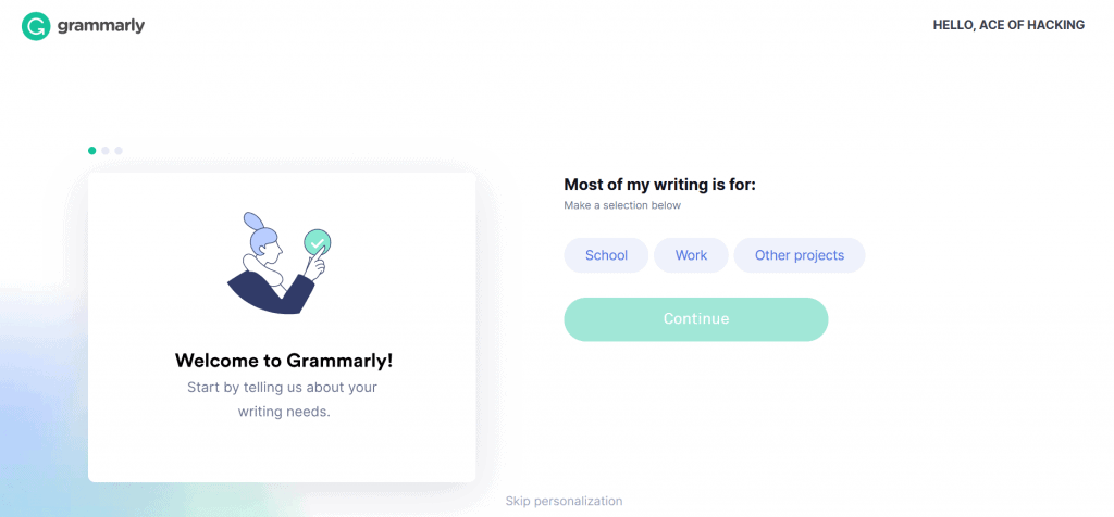 premium grammarly account