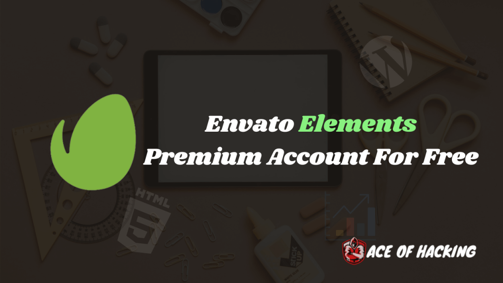 Envato Elements Premium Account For Free