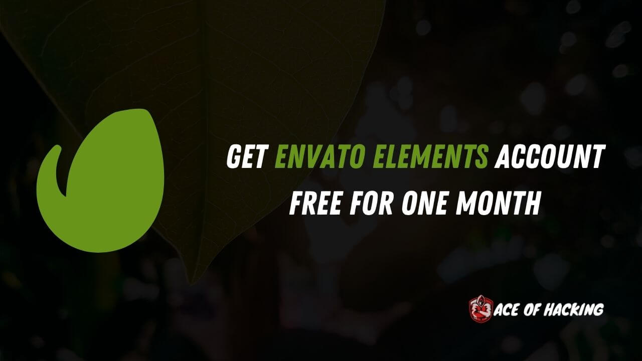 Get Envato Elements Account Free For One Month