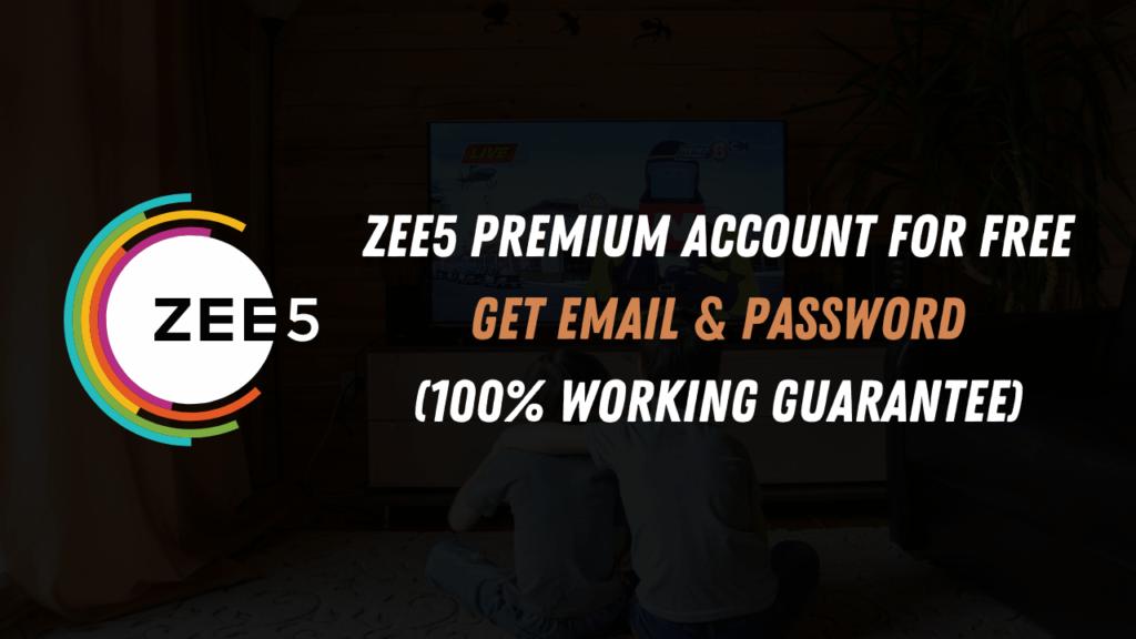 Zee5-Premium-Account-Free